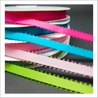 "3/8"" Satin Picot Edge Ribbon"